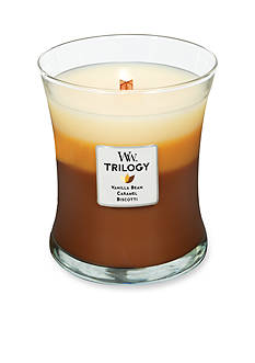 WoodWick Trilogy Medium Candle - Caf Sweets