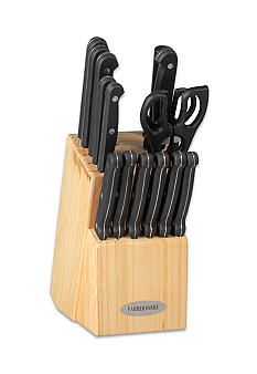 Farberware 17-Piece Triple Rivet Cutlery Set