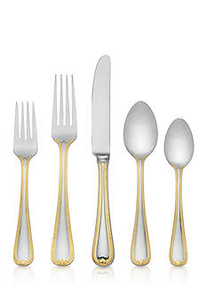 Lenox Vintage Jewel 5-Piece Gold Flatware Set