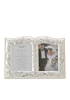 Lenox Opal Innocence Double Invitation Frame - Online Only