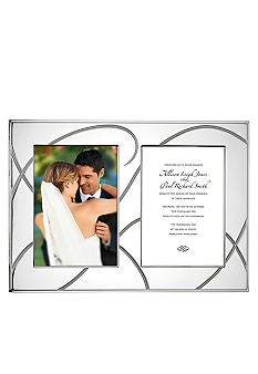 Lenox Adorn Double Invitation Frame