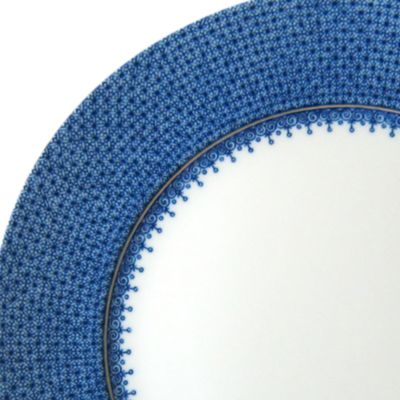 Gold China: Blue/Wht Mottahedeh BLUE LACE SERVICE PL