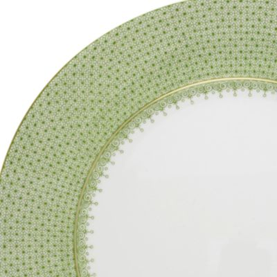 Decorative Dinnerware: Grn Apple Mottahedeh BLUE LACE SERVICE PL