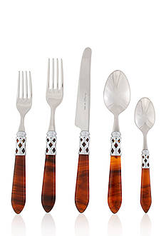 VIETRI Tortoiseshell Five-Piece Place Setting