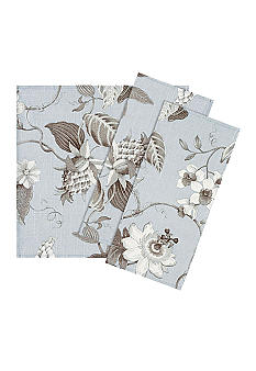 Vietri Floral Light Blue Napkin