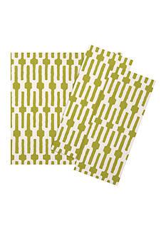 VIETRI Lime Green Links Napkin