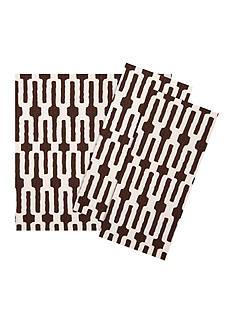 VIETRI Chocolate Links Napkin