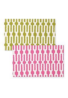 Pink Link/Lime Green Link Placemat