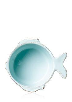 VIETRI LASTRA FISH AQUA CNDMNT BWL