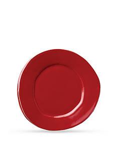 VIETRI Lastra Red Salad Plate