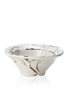 VIETRI Natura Leaf Small Round Bowl