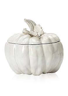 VIETRI Natura Medium Carved Pumpkin