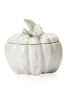 VIETRI Natura Medium Carved Pumpkin