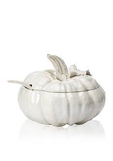 VIETRI Natura Pumpkin Soup Tureen