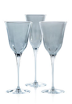 Vietri Optical Smoke Gray Stemware