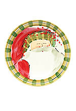 Old St. Nick Striped Hat Dinner Plate 10.75-in.