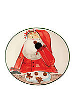 Old St. Nick Santa Cookie Plate 8.25-in. x 7.5-in.