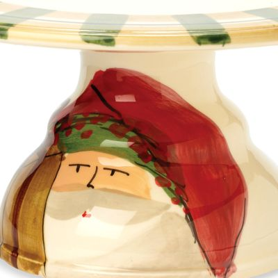 Christmas Shop: Multi VIETRI Old St. Nick Candy Dish