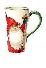 Old St. Nick Santa Latte Mug 6-in. H. NEW!