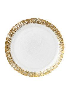 VIETRI RFL GLS GOLD SALAD