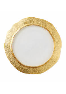 VIETRI Gold Organic Service Plate/Charger