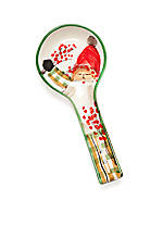 Old St. Nick Spoon Rest 10.25-in. L