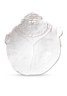 VIETRI Bellezza Holiday Santa Medium Serving Bowl