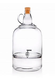 Godinger Sonoma Valley Glass Beverage Dispenser