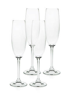 Godinger Meridian Set of 4, 7-oz. Flutes