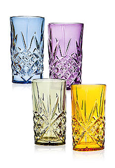 Godinger Dublin Set of 4 Highball Glasses