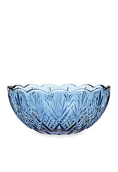 Godinger Dublin Blue Serving Bowl