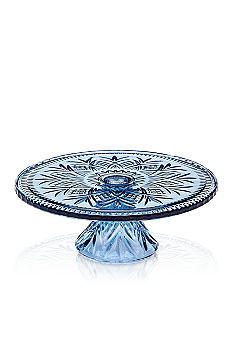 Godinger Dublin Blue Footed Cake Plate