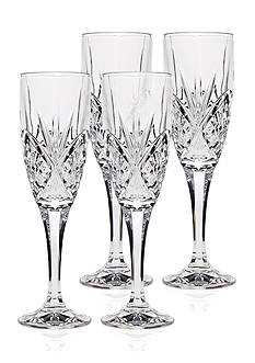 Godinger Dublin Set of 4, 6-oz. Flutes