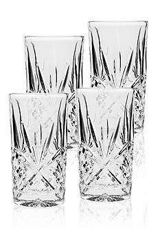 Godinger Dublin Highballs Set of 4