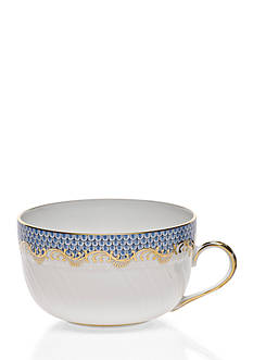 Herend FISHSCALE LT BLUE CUP