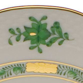 Decorative Accents: White Herend 3.25-in. X 0.75-in. Mini Scalloped Dish