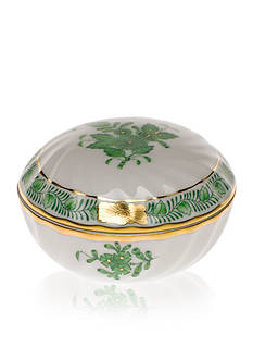 Herend Ring Box - Green