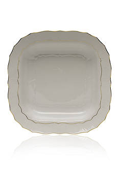 Herend 11-in. Square Fruit Dish