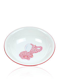 Herend Elephant Baby Bowl - Pink