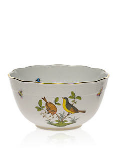 Herend Rothschild Bird 7.5-in. Round Bowl