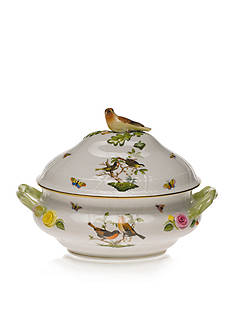 Herend Tureen with Bird