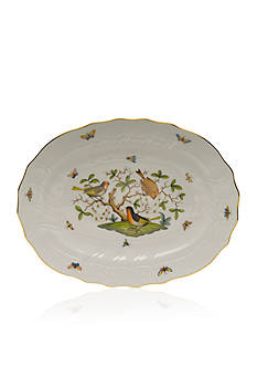 Herend 17-in. X 12.5-in. Platter