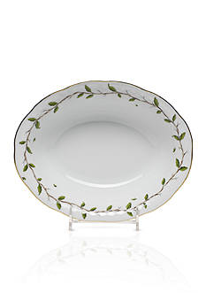 Herend Rothschild Garden Oval Vegetable Dish