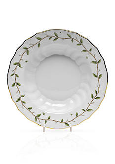 Herend Rothschild Garden Rim Soup Bowl
