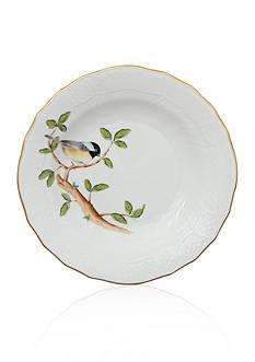 Herend Dessert Plate - Chickadee
