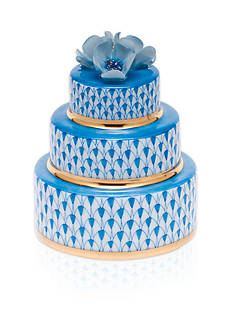 Herend Wedding Cake - Blue