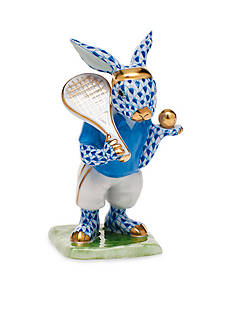Herend Tennis Bunny - Blue