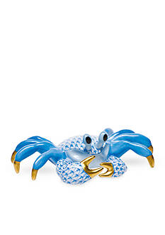 Herend Ghost Crab - Blue