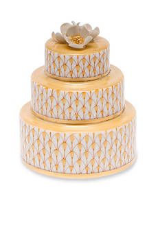 Herend Wedding Cake - Butterscotch