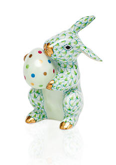 Herend Easter Bunny - Key Lime